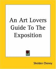 Cover of: An Art Lovers Guide To The Exposition (A History of Painting)