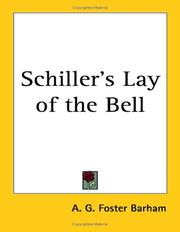 Cover of: Schiller's Lay of the Bell