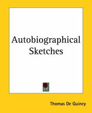 Cover of: Autobiographical Sketches: Selections; Grave and Gay; From Writings Published