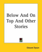 Cover of: Below And On Top And Other Stories