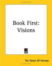 Cover of: Book First