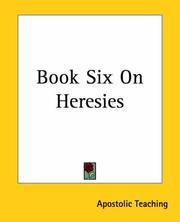 Cover of: Book Six On Heresies