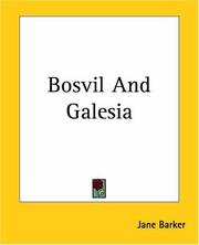 Cover of: Bosvil And Galesia