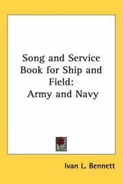 Cover of: Song And Service Book for Ship And Field