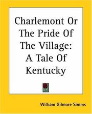 Cover of: Charlemont, or, The pride of the village