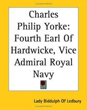 Cover of: Charles Philip Yorke