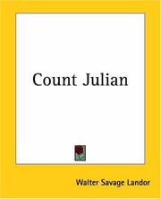 Cover of: Gebir, Count Julian
