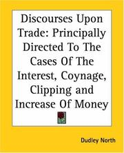 Cover of: Discourses Upon Trade