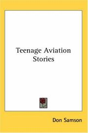 Cover of: Teenage Aviation Stories | Don Samson