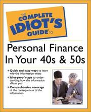 Cover of: The complete idiot's guide to personal finance in your 40s and 50s