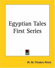 Cover of: Egyptian Tales (1)