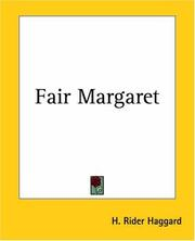 Cover of: Fair Margaret