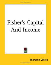 Cover of: Fisher's Capital And Income