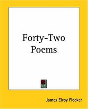 Cover of: Forty-two Poems | James Elroy Flecker