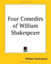 Cover of: Four Comedies Of William Shakespeare | William Shakespeare