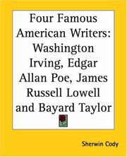 Cover of: Four Famous American Writers