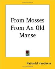 Cover of: From Mosses From An Old Manse