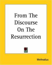 Cover of: From The Discourse On The Resurrection