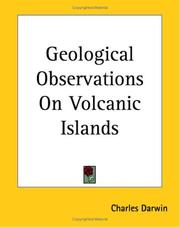 Cover of: Geological Observations on Volcanic Islands