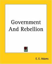 Cover of: Government And Rebellion
