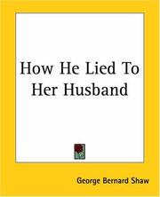 Cover of: How he lied to her husband