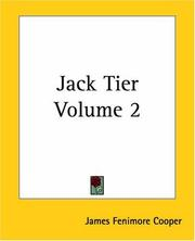 Cover of: Jack Tier, Vol. 2 | James Fenimore Cooper