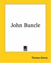 Cover of: John Buncle