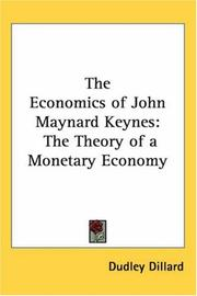 Cover of: The Economics of John Maynard Keynes