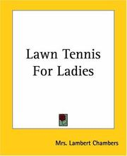 Cover of: Lawn Tennis For Ladies