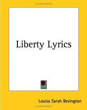 Cover of: Liberty Lyrics