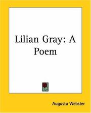 Cover of: Lilian Gray