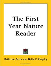 Cover of: The First Year Nature Reader | Nellie F. Kingsley