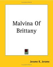 Cover of: Malvina Of Brittany | Jerome Klapka Jerome