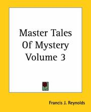 Cover of: Master Tales Of Mystery