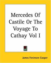 Cover of: Mercedes Of Castile Or The Voyage To Cathay by James Fenimore Cooper