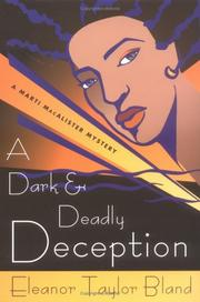 Cover of: A dark and deadly deception