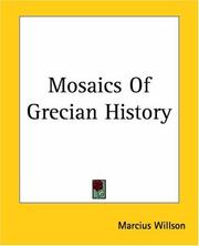 Cover of: Mosaics of Grecian history