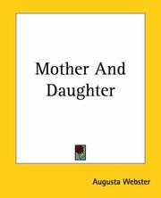 Cover of: Mother & daughter