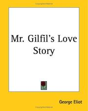 Cover of: Mr Gilfil's love story
