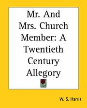 Cover of: Mr. And Mrs. Church Member