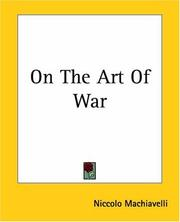 Cover of: On the Art of War | Niccolò Machiavelli