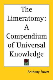 Cover of: The Limeratomy | Anthony Euwer