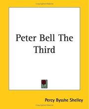 Cover of: Peter Bell The Third: a facsimile of the press-copy transcript ... ; and, The triumph of life : a facsimile of Shelley's holograph draft