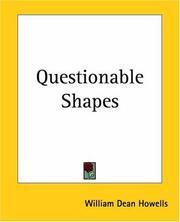 Cover of: Questionable Shapes | William Dean Howells