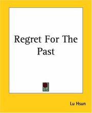 Cover of: Regret For The Past