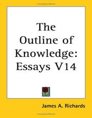 Cover of: The Outline of Knowledge