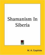 Cover of: Shamanism In Siberia