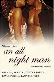 Cover of: An All Night Man | Brenda Jackson