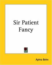 Cover of: Sir Patient Fancy