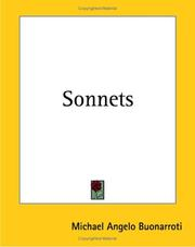 Cover of: Sonnets